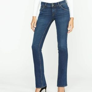 Hudson Jeans- Midrise Bootcut Jeans EUC